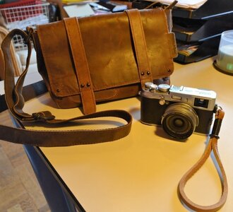 Bag with X100 and Gordy strap.jpg
