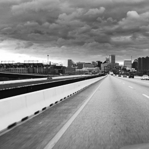 Entering Baltimore