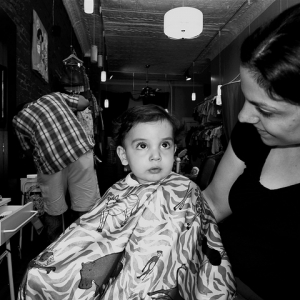 Mikey's First Haircut