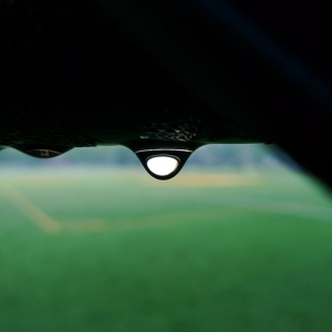 Droplet on the field