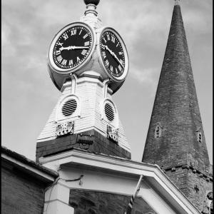 Kingsbridge Town Hall Clock
