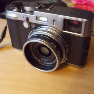 Cheap X100 lens hood