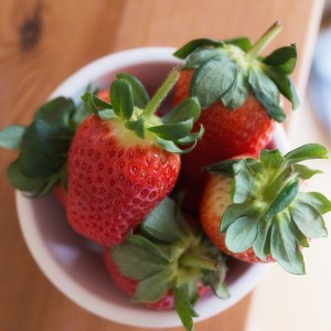 Strawberries...... obviously!