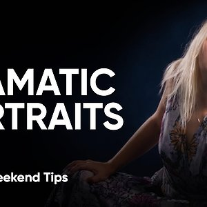 DRAMATIC PORTRAITS | How To Remove Light With Luminar 3