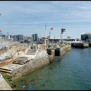 Mayflower Steps, Plymouth Barbican