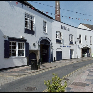 Blackfriars distillery, Southside Street, Plymouth, England