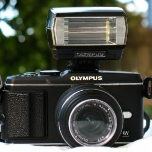 Olympus T20 Flashunit