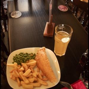 Fish and Chips, and Cider