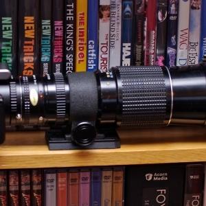 NEx-5N plus 400mm Pentax-M lens plus 2.0X converter