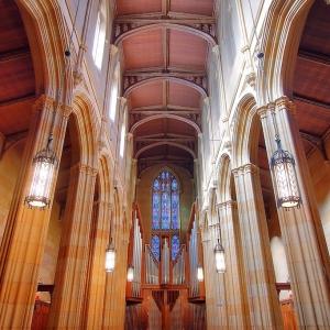 SIJ - Day 4:  Dwight Memorial Chapel, Yale University