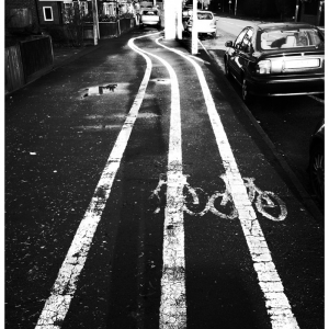 Jan 5 - Look out, it's a dangerous cyclepath!
