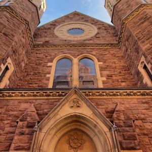 SIJ - Day 5: Battell Chapel, Yale University