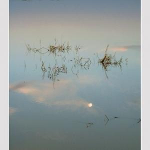 Sunset at Sambhar Lake