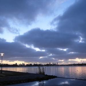 SIJ 13 - lake sunset