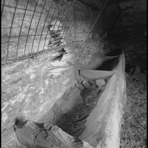 Derelict Byre-black and white