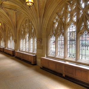 SIJ - Day 17:  Cloisters, Sterling Memorial Library