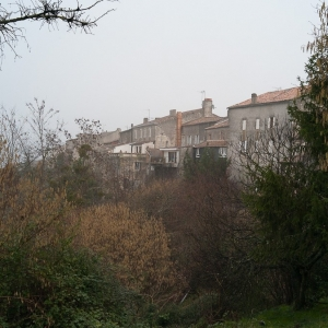 Local Village - partly built n a hill side