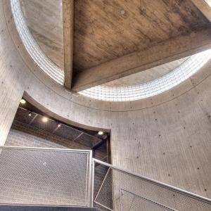 SIJ - Day 24: Detail - Stairwell, Yale Museum of Art.