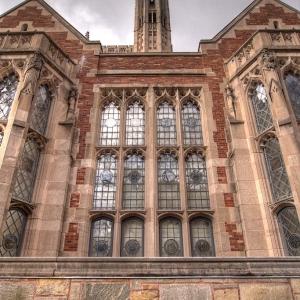 SIJ - Day 28: Detail, Window at Yale University Law School