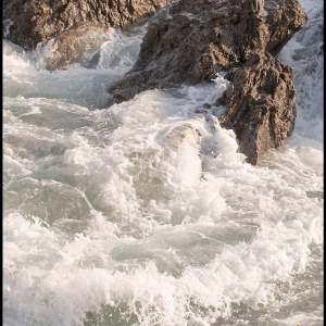 Surging wave