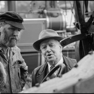 Men at Foden Steam Wagon