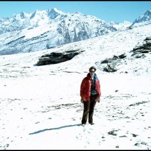 Self portrait Rohtang Pass