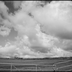 Cloudscape and gates