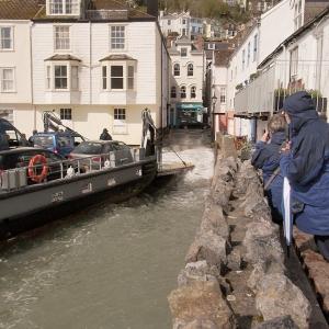 The Dartmouth slipway