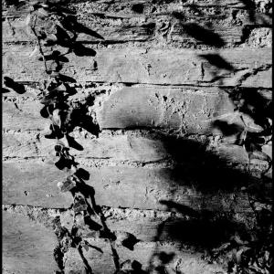Stonework, sun and shadow