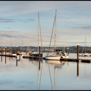 Quiet reflections on the estuary