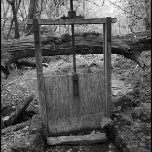 Disused sluice gate