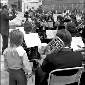 Band at the Lord Mayors show (Plymouth)
