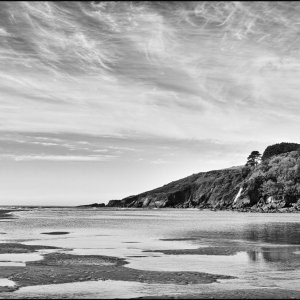 Mouth of the Erme, low tide