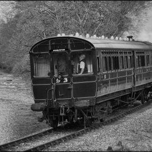 Steam Railcar No 93