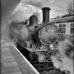 1450 blowing off whilst waiting for the starter signal