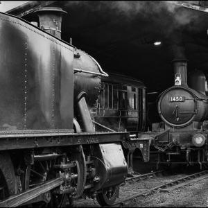 Raising steam on shed