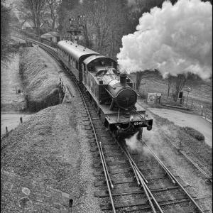 5542 departs for Totnes