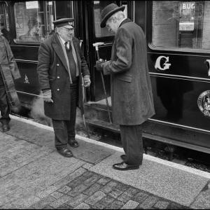 Edwardian gentleman passenger