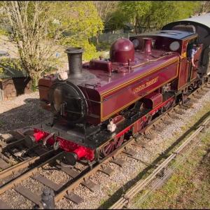 L92 arrives at Buckfastleigh