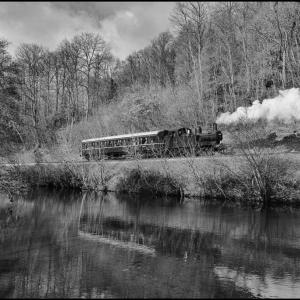 The quintissential UK branch line train