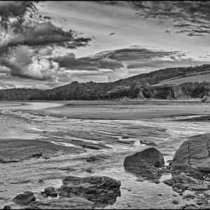 Low tide on the estuary