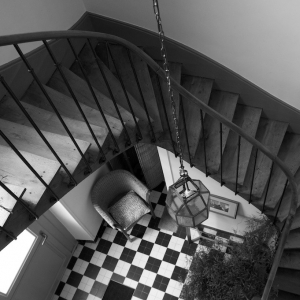 Grez hallway