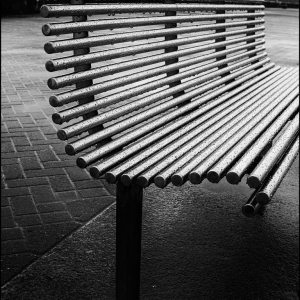 A damp seat