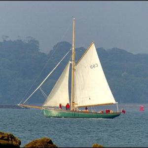 Sailing cutter