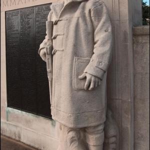Corner of Royal Navy War Memorial, Plymouth