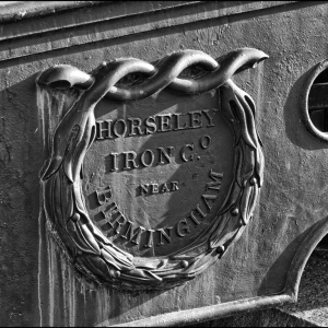 Detail, makers name plate