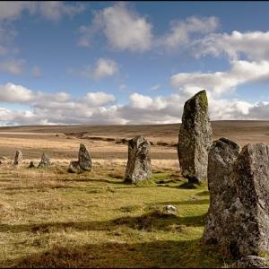 Stone row