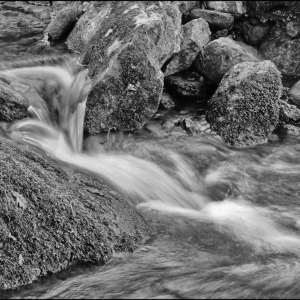 Cascading over the rocks