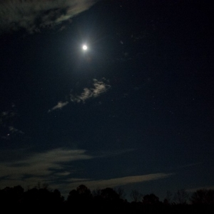 The Moon and Orion