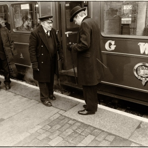 On the Great Western Railway in Edwardian England